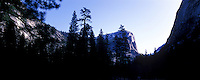 Panorama images from Yosemite National Park early morning and late afternoon in April. <br /> All images are high resolution or 9250x3700 pixels and taken on Hasselblad Xpan and Fuji Velvia film.