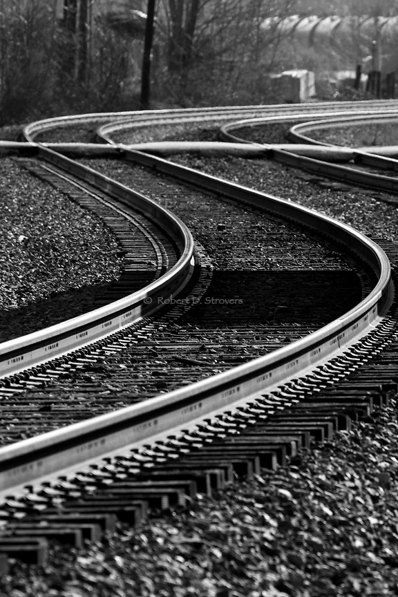 Trains, Tracks, Railroads and Train Stations - On and around the tracks