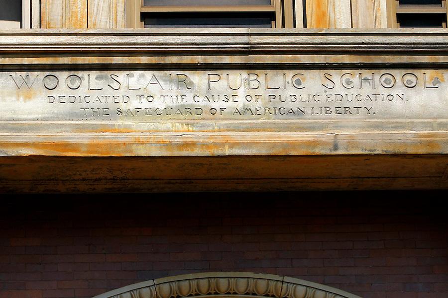 Pittsburgh's neighborhoods - Woolslair public school, Lawrenceville