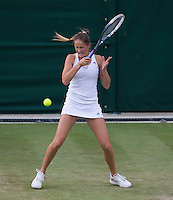 BOJANA JOVANOVSKI (SRB)<br /> <br /> The Championships Wimbledon 2014 - The All England Lawn Tennis Club -  London - UK -  ATP - ITF - WTA-2014  - Grand Slam - Great Britain -  25th June 2014. <br /> <br /> &copy; AMN IMAGES