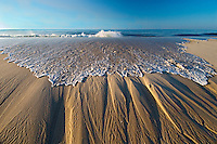 Wave, Sand Striations, Quogue, NY, 2006 archival pigment print face-mounted to plexiglass 27x40 edition of 12 $2400 print $2000