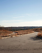December 15, 2010. Chatham County, NC..Empty former housing developments.