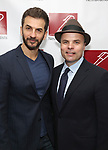 Michael Aronov and J.T. Rogers attends The New Dramatists' 68th Annual Spring Luncheon at the Marriott Marquis on May 16, 2017 in New York City.