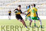 Micheal Burns  Dr Crokes sends Michael B Murphy  Gneeveguilla to the shops during East Kerry semi final in Fitzgerald Stadium on Saturday