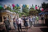 Sochi 06.06.2010 Russia<br /> On picture: Major of the Sochi Anatolij Pachomow.<br /> Picnic for residents of Sochi. The event was organized on the occasion of the Olympic Games in 2014.<br /> Photo: Adam Lach / Newsweek Polska / Napo Images<br /> <br /> Na zdjeciu: Anatolij Pachomow mer Soczi.<br /> Festyn dla mieszkancow Soczi. Impreza zostala zorganizowana z okazji Igrzysk Olimpijskich w 2014 roku.<br /> Photo: Adam Lach / Newsweek Polska / Napo Images