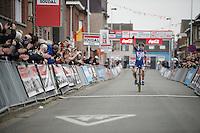 victory once again for European Champion Sanne Cant (BEL/Enertherm-BKCP)<br /> <br /> Jaarmarktcross Niel 2015  Elite Women's Race