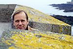 Bjorn Larsson, Swedish writer attending book fair in Saint Malo.