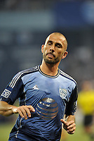 Sporting Park, Kansas City, Kansas, July 31 2013:<br /> Marco Di Valo (9) forward MLS All-Stars .<br /> MLS All-Stars were defeated 3-1 by AS Roma at Sporting Park, Kansas City, KS in the 2013 AT &amp; T All-Star game.
