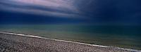 Europe/France/Picardie/80/Somme/Baie de Somme/Cayeux-sur-Mer: Sation balnéaire populaire avec sa plage de galets