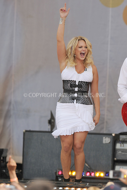 WWW.ACEPIXS.COM . . . . . .July 8, 2011...New York City....Miranda Lambert performs on ABC's 'Good Morning America' at Rumsey Playfield, Central Park on July 8, 2011 in New York City.....Please byline: KRISTIN CALLAHAN - ACEPIXS.COM.. . . . . . ..Ace Pictures, Inc: ..tel: (212) 243 8787 or (646) 769 0430..e-mail: info@acepixs.com..web: http://www.acepixs.com .
