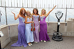 Celtic Women visit Empire State Building March 15, 2012 New York, Ny