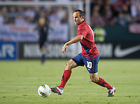 Carson, Ca-Friday Sept. 2, 2011: USA's Lanson Donovan carries the ball during a 1-0 loss to Costa Rica at the Home Depot Center.