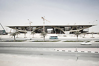 Qatar - Doha - Education City, building under construction