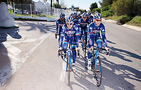 Antoine Demoiti&eacute; (BEL/Wanty-Groupe Gobert) &amp; Enrico Gasparotto (ITA/Wanty-Groupe Gobert)<br /> <br /> Pro Cycling Team Wanty-Groupe Gobert <br /> <br /> Pre-season Training Camp january 2016