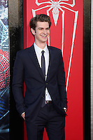 "LOS ANGELES - JUN 28:  Andrew Garfield arrives at the ""The Amazing Spider-Man"" Premiere at Village Theater on June 28, 2012 in Westwood, CA"