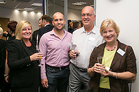 Pictured from left are Julie Corthorn of Handelsbanken with Richard, Brian and Linda Annable from Kapok 88