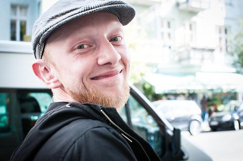 Male portraits taken while in Berlin