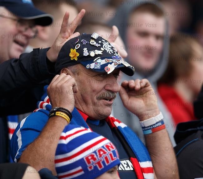 Rangers fans..