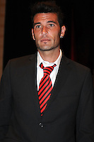 D.C. United defender Emiliano Dudar,at the United Kickoff luncheon, at the Marriott hotel in Washington DC, March 5, 2012.