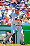 7 June 2009: New York Mets' right fielder Fernando Martinez in action during a game against the Washington Nationals at Nationals Park in Washington, DC. The Mets shut out the Nationals 7-0 to take the third game of the weekend series. Mandatory Credit: Ed Wolfstein Photo