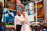 NYC Newlyweds Times Square 2012-01-24