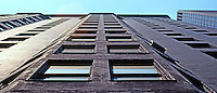 Burnham & Root: Monadnock Bldg. Oriel Windows.  Photo '77.