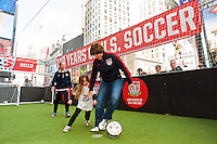 US Soccer Times Square Takeover
