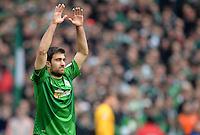 FUSSBALL   1. BUNDESLIGA   SAISON 2012/2013    28. SPIELTAG SV Werder Bremen - FC Schalke 04                          06.04.2013 Sokratis Papastathopoulos (SV Werder Bremen)