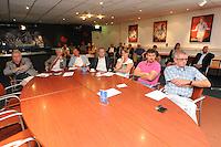 VOETBAL: ABE LENSTRA STADION: HEERENVEEN: 27-08-2013, Presentatie nieuw Stichtingsbestuur, ©foto Martin de Jong