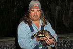 """Cast of """"Swamp People"""" bring Alligators to NYC February 2, 2012"""