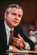 18 Feb 1987, Washington, DC, USA --- American director of the Central Intelligence Agency, Robert Gates. --- Image by © JP Laffont