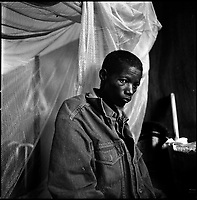 Kuito, Angola, May, 22, 2006.Jacinto, 42, suffers from Tuberculosis and is a patient in Bi&eacute; Province Hospital. TB is endemic in the region, fueled by poverty, malnutrition, inadequate hygiene and the rapid spreading of HIV/AIDS since the end of the civil war in 2002.