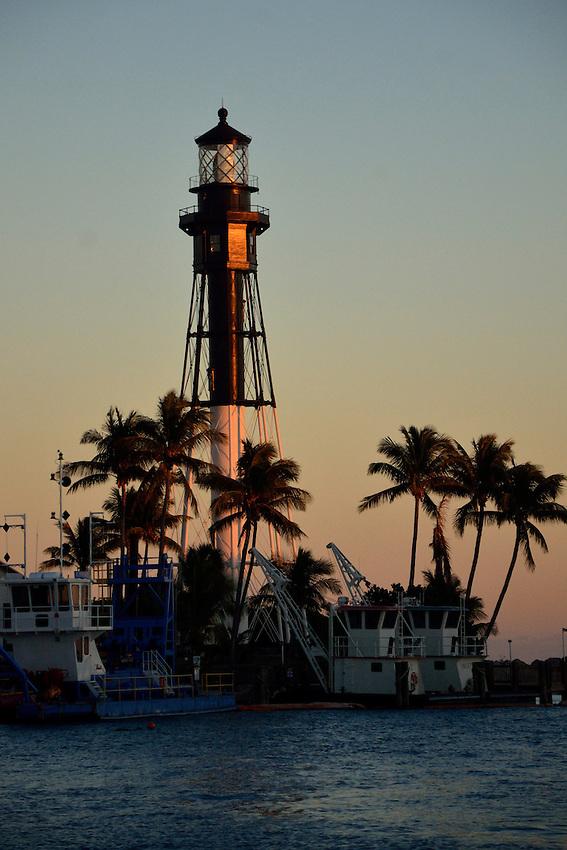 Hillsboro Light House,  Pompano, Florida