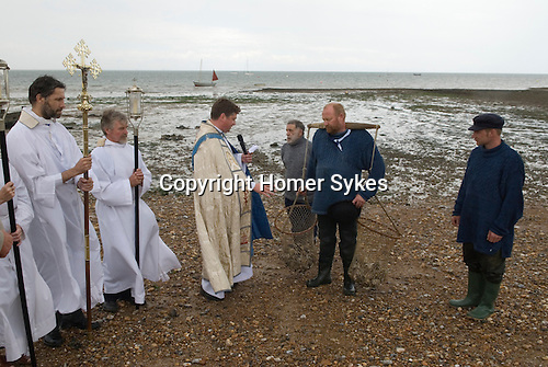 Whitstable Oyster Festival, Kent England 2007. Blessing the oyster harvest.