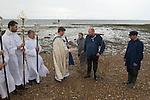 Whitstable Oyster Festival, Kent England 2007. Blessing the oyster harvest.