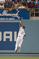 08/9/11 Los Angeles, CA: Los Angeles Dodgers center fielder Matt Kemp #27 during an MLB game against the Philadelphia Phillies played at Dodger Stadium. The Phillies defeated the Dodgers 2-1.