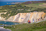 Alum Bay, Coloured Sands, Walkers, Needles, Isle of Wight, England, UK, Photographs of the Isle of Wight by photographer Patrick Eden