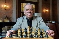 Garry Kasparov Portrait Shoot