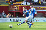 Motherwell v St Johnstone...11.08.12.Dave Mackay misses the penalty.Picture by Graeme Hart..Copyright Perthshire Picture Agency.Tel: 01738 623350  Mobile: 07990 594431