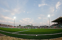 Sani Abacha Stadium. US Men's National Team Under 17 defeated Malawi 1-0 in the second game of the FIFA 2009 Under-17 World Cup at Sani Abacha Stadium in Kano, Nigeria on October 29, 2009.