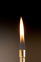 AIR INTAKE AFFECTS BUNSEN BURNER FLAME<br />