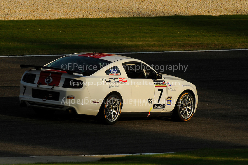 #7 Starworks Motorsport Mustang BOSS 302R of John Dalziel & Miguel Potolicchio (GS class)