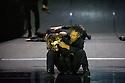 London, UK. 28.01.2014. Boris Charmatz/ Musee de la Danse presents ENFANT, in its UK premiere at Sadler's Wells. Photograph shows: the ensemble. Photograph © Jane Hobson.