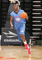 P/WF Chris Singleton (Canton, GA / Cherokee)moves the ball during the NBA Top 100 Camp held Friday June 22, 2007 at the John Paul Jones arena in Charlottesville, Va. (Photo/Andrew Shurtleff)