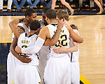 The No. 5 University of Michigan men's basketball team beat Cleveland State University, 77-47, in the NIT Season Tip-Off at Crisler Arena in Ann Arbor, Mich., on November 13, 2012.