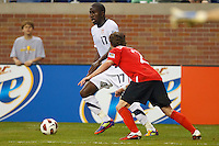 7 June 2011: USA Men's National Team forward Jozy Altidore (17) during the CONCACAF soccer match between USA MNT and Canada MNT at Ford Field Detroit, Michigan. USA won 2-0.
