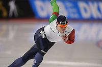 SPEEDSKATING: CALGARY: Olympic Oval, 25-02-2017, ISU World Sprint Championships, 500m Men, David Bosa (ITA), ©photo Martin de Jong