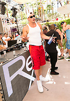 LAS VEGAS, NV - APRIL 29: Rob Gronkowski watches as Flo Rida performs at Rehab at The Hard Rock Hotel & Casino in Las Vegas, Nevada on April 29, 2017. Credit: GDP Photos/MediaPunch