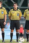 29 August 2014: Fourth Official Dan Meyer. The University of North Carolina Tar Heels hosted the University of California Bears at Fetzer Field in Chapel Hill, NC in a 2014 NCAA Division I Men's Soccer match. North Carolina won the game 3-1.