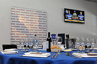A general view of the hospitality set-up, prior to the match. The Clash, Aviva Premiership match, between Bath Rugby and Leicester Tigers on April 8, 2017 at Twickenham Stadium in London, England. Photo by: Rob Munro / Onside Images